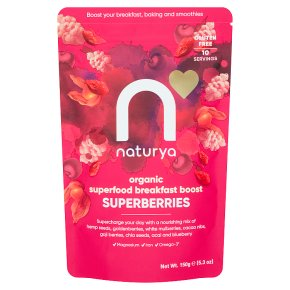 Naturya Organic Superfood Breakfast Boost Superberries