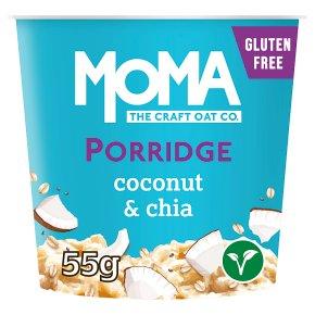 MOMA No Added Sugar Coconut & Chia Porridge