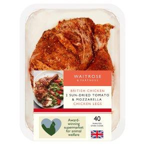 Waitrose Sun-Dried Tomato & Mozzarella Chicken Legs