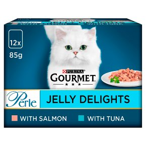 Gourmet Perle Jelly Delights Salmon & Tuna