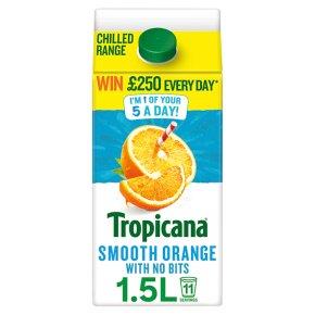 Tropicana Smooth Orange Juice with No Bits