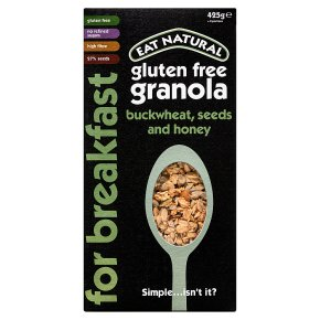 Eat Natural Granola Buckwheat & Honey
