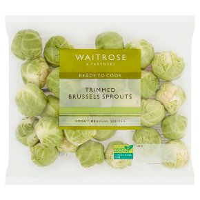 Waitrose Trimmed Sprouts