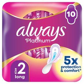 Always Platinum Pads Size 2