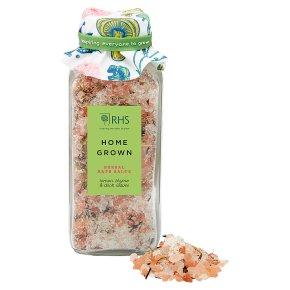RHS Home Grown Herbal Bath Salts
