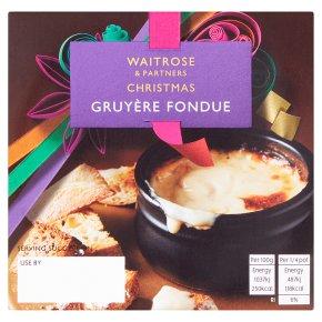 Waitrose Gruyère Fondue