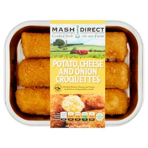 Mash Direct Potato, Cheese & Onion Croquettes