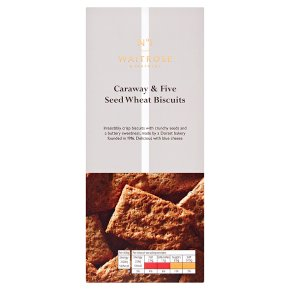 No.1 Caraway & Five-Seed Wholemeal Biscuits