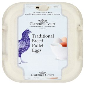 Clarence Court Traditional Breed Pullet Eggs