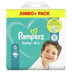 Pampers Baby Dry Jumbo Pack 6+