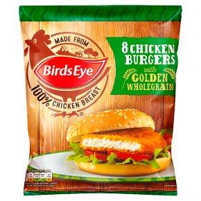 Birds Eye Frozen Chicken Burgers 8s