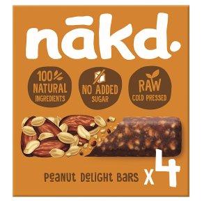 Nákd Peanut Delight Wholefood Bars