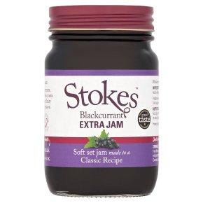 Stokes Extra Jam Blackcurrant