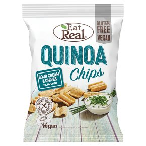Eat Real Quinoa Sour Cream Chips