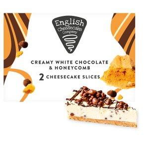 English Cheesecake White Chocolate & Honeycomb Cheesecake