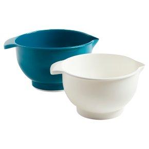 John Lewis Mixing Bowls Set of 2 Teal