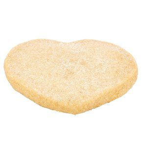 Vanilla Shortbread Heart