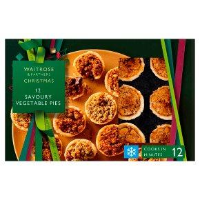 Waitrose Vegan Mini Pies x 12
