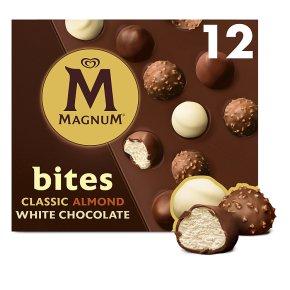 Magnum Bites Classic Almond & White Chocolate