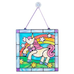 M&D Stained Glass Unicorn