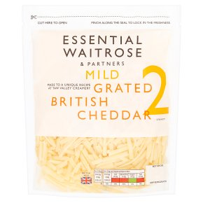 Essential Mild Grated British Cheddar Strength 2