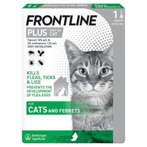 Frontline Plus Spot-On Cat 0.5ml