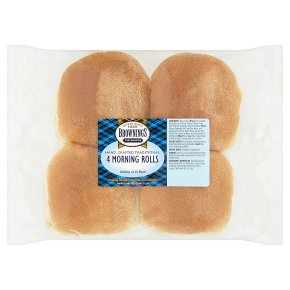 Brownings Scottish morning rolls
