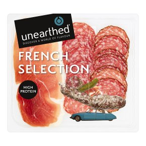 Unearthed French Assiette