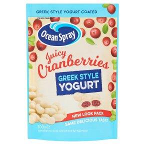 Ocean Spray Greek Style Yogurt Juicy Cranberries