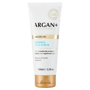 Argan+ Refining Face Scrub