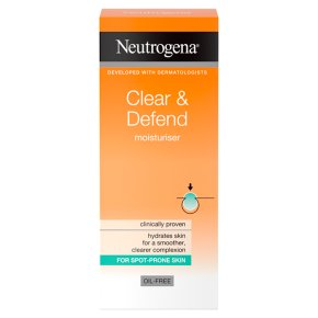 Neutrogena Clear & Defend Moisturser