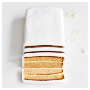 Lemon Sponge Wedding Cutting Bar
