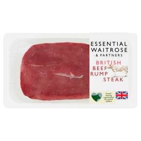 Essential British Beef Rump Steak