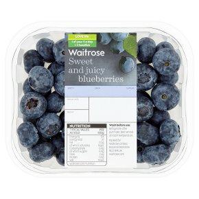 Waitrose Sweet Blueberries