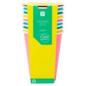 TT Eco Bright Cups 8pk