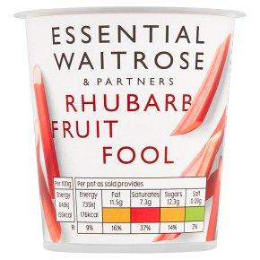 Essential Rhubarb Fruit Fool