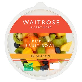 Waitrose Tropical Fruit Bowl