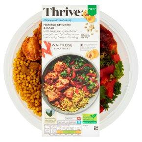 Waitrose Thrive Harissa Chicken & Kale