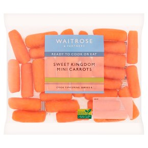 Waitrose Sweet Kingdom Orange Mini Carrots