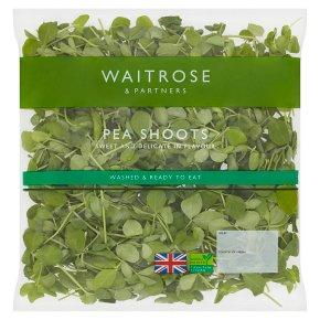 Waitrose pea shoots