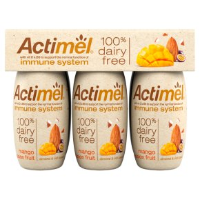 Actimel 100% Dairy Free Mango & Passionfruit Drink