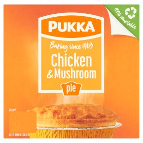 Pukka Chicken & Mushroom Pie