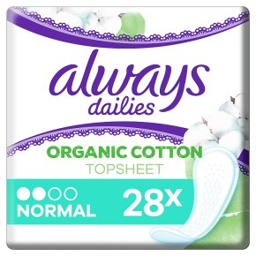 Always Dailies Cotton Pantyliners