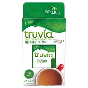 Truvia Stevia Leaf 100 Sweetener Tablets
