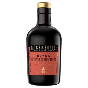 Batch & Bottle Reyka Vodka Rhubarb Cosmopolitan Cocktail