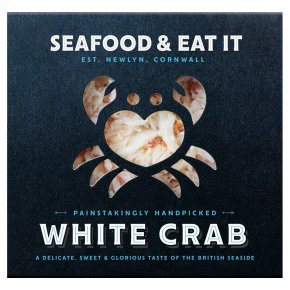 Seafood & eat it handpicked white Crab