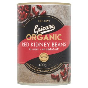 Epicure Organic Red Kidney Beans