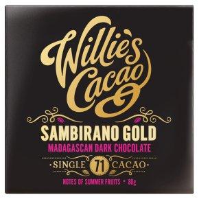 Willie's Cacao Madagascan gold Sambirano 71