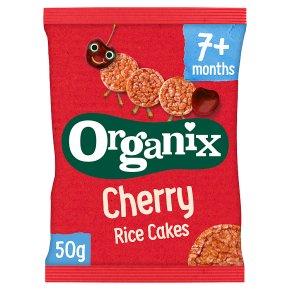 Organix Cherry Baby Finger Rice Cakes