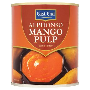 East End sweetened alphonso mango pulp